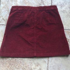 Zara Bottoms - EUC Like New! Zara Girls size 8 maroon skirt